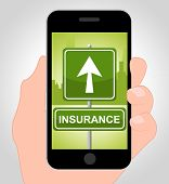 Insurance Online Represents Financial Indemnity And Coverage poster