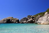 Spartila beach in Parga Northern Greece