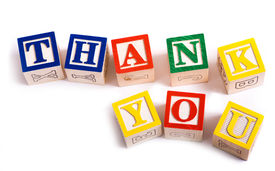 foto of thank you note  - A child - JPG