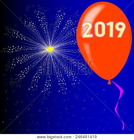 A Flyaway Red Balloon With