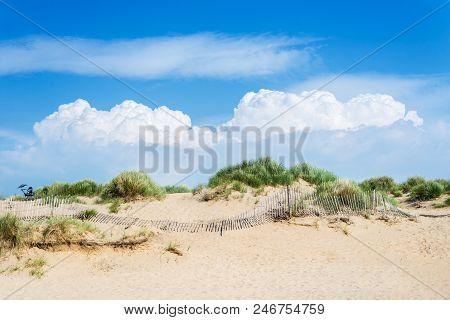 Sandy Formby Beach Near Liverpool