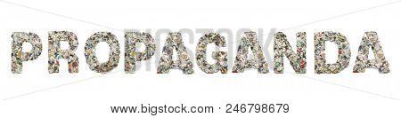 the word  PROPAGANDA