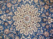 stock photo of tabriz  - image of original persian carpet which is handmade - JPG