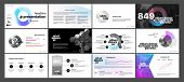 Creative Presentation Templates Elements On A White Background. Vector Infographics. Use In Presenta poster