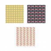 Ethnic Pattern. Geometric Pattern. Ethnic Background Pattern, Ethnic Wallpaper Pattern, Ethnic Cloth poster