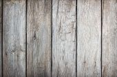 Old Wood Plank Brown Texture For Decoration Background. Wooden Wall All Antique Cracking Furniture P poster
