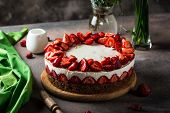 Strawberry Cake. Cheese Cake. Piece Of Cake. Valentines Day. Womans Day. Womens Day. Valentine. Birt poster