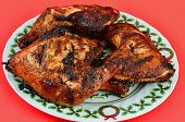Grilled Chicken Christmas