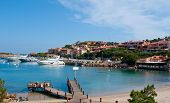 picture of shipyard  - The centre of the marina is the village of Porto Cervo with exclusive yacht club and shipyard capable of repairing large luxury yachts - JPG