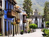 pic of canary-islands  - Teror  - JPG
