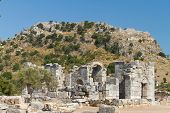 picture of dalyan  - Kaunos ancient city from Dalyan Town - JPG