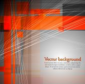 Concept technology background. Vector design eps 10