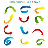 Colorful Arrow