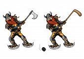 foto of berserk  - Illustration viking - JPG
