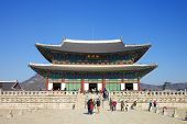 image of gatekeeper  - Bongeunsa Temple grounds in the Gangnam District of Seoul - JPG