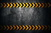 image of tar  - Asphalt background with black and yellow markings - JPG