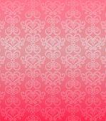 Постер, плакат: Роскошный розовый орнамент