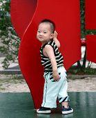 Cute Asian Boy poster
