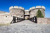 picture of yugoslavia  - Entrance Gate in Kalemegdan Fortress Belgrade Serbia - JPG