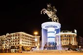 foto of great horse  - Warrior on a Horse statue  - JPG