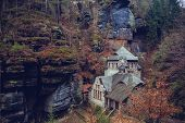 pic of water-mill  - Old water mill near H - JPG