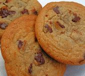 foto of chocolate-chip  - chocolate chip cookies - JPG