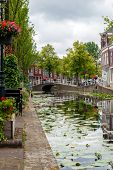 Постер, плакат: Canal In Delft