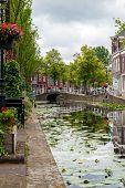 Постер, плакат: Canal In Delft
