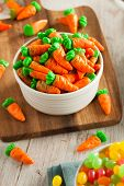 picture of easter candy  - Sweet Sugary Easter Candy in a Bowl - JPG
