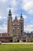 pic of copenhagen  - Rosenborg palace is a renaissance castle located in Copenhagen Denmark - JPG