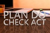 stock photo of plan-do-check-act  - Plan Do Check Act  - JPG