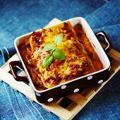 picture of lasagna  - Italian Food - JPG