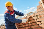stock photo of trowel  - construction worker - JPG