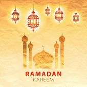 stock photo of kareem  - traditional lantern of Ramadan - JPG