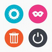 image of anonymous  - Circle buttons - JPG