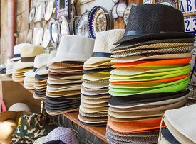 picture of stall  - Handmade Panama Hats for sale - JPG