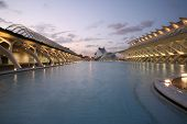 picture of calatrava  - architecture valencia - JPG