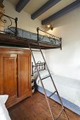 stock photo of bunk-bed  - tower - JPG