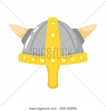 Vector Cartoon Style Viking In