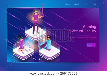 Gaming In Virtual Reality Isometric