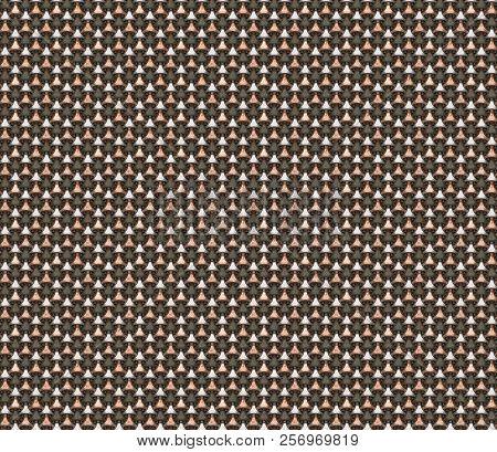 Metallic Geometric Triangle Shape Seamless