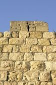 image of tora  - old city wall - JPG