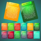 foto of text-box  - design website elements - JPG