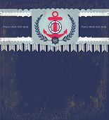 nautical invitation card