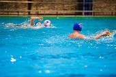 Water Polo Players poster