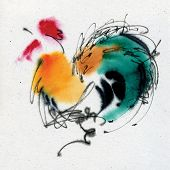 image of quirk  - Colorful cock - JPG