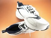 A Pair Of Running Shoes Closeup (Brand New) poster