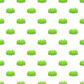 Bushes Pattern. Cartoon Illustration Of Bushes Pattern For Web poster