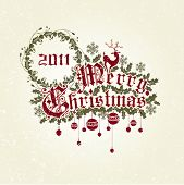 stock photo of merry christmas text  - Merry Christmas - JPG