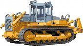 foto of skid-steer  - Bulldozer - JPG